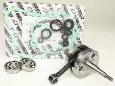 Wiseco Yamaha YZ 125 98-00 Crankshaft Assembly Main Bearings Gasket Kit WPC124